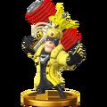 SSB4 Trophy - Wonder Yellow.png