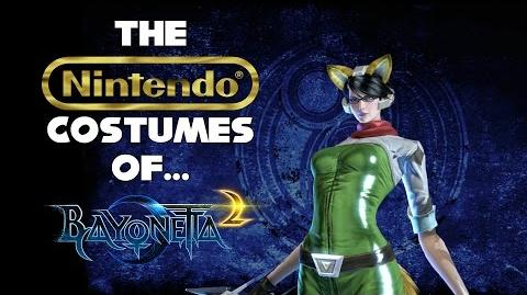 The Nintendo Costumes of Bayonetta 2