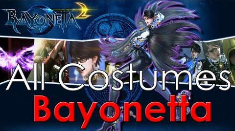 Bayonetta 2 - ALL Costumes *Bayonetta*