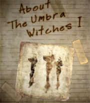 About The Umbra Witches I