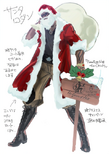 Rodin Santa