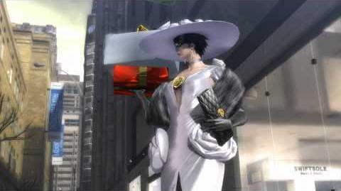 "Bayonetta 2 - World of Chaos Enzo & Cereza Holiday Shop, Jeanne Bike ""The Platinum Stars"" Cutscene"