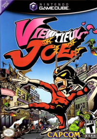Viewtiful Joe Box Art