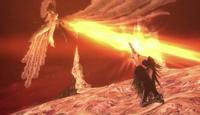 Balder as he fights Bayonetta