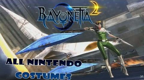 Bayonetta 2- Nintendo Costumes Gameplay