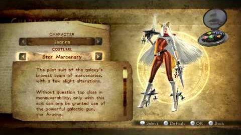 Bayonetta 2 Costumes (Jeanne)