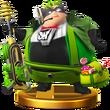 SSB4 Trophy - Wonder Green