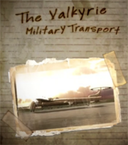 The Valkyrie Military Transport