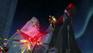 Bayonetta 2 - Loptr steals the Left Eye from Bayonetta