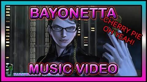 Bayonetta Cherry Pie THE SEXUALS AND THE SHOOTINGS Music Video