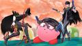 SSB4 - Bayonetta and Kirby.png