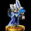 SSB4 Trophy - Wonder Blue