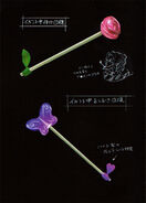 Bloody Rose Purple Butterfly Lollipop Concept Art