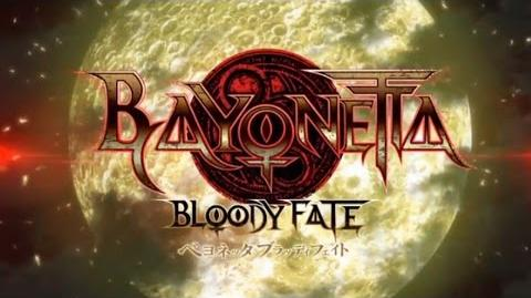 Bayonetta Bloody Fate (2013) anime movie