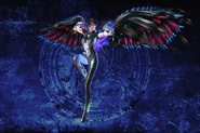 Malphas Wings Bayonetta Model