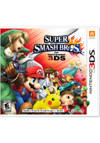 SSB4 - 3DS Boxart