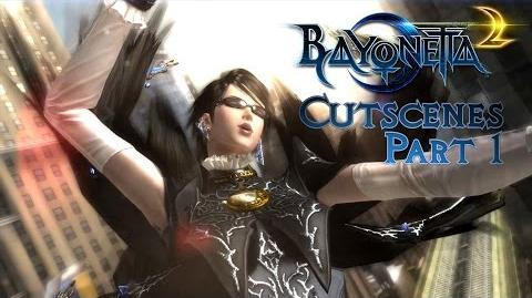 Bayonetta 2 cutscenes (Wii U 1080p @ 60 FPS) Part 1