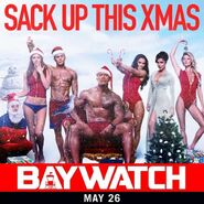 Baywatch Christmas promo