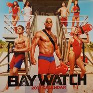 Baywatch 2017 movie calendar