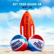 Baywatch teaser poster