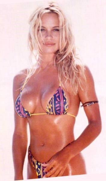 Pamela Anderson Pink Bikini