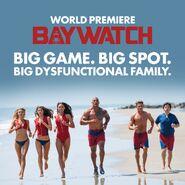 Baywatch Super Bowl promo