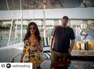 Priyanka Chopra with-director Set Gordon
