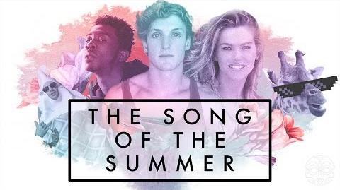 """The Rock and Logan Paul's """"THE SONG OF THE SUMMER"""" ft"""