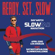 Baywatch SloMo Marathon announcement with Zac Efron 1