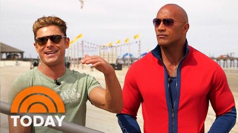 Join Dwayne 'The Rock' Johnson, Zac Efron On The Set Of 'Baywatch' Reboot TODAY