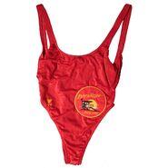 Baywatch-lifeguard swimsuit