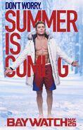 Baywatch Summer Is Coming character Matt poster