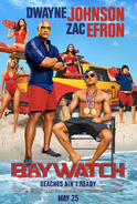 Baywatch Beaches Ain't Ready poster
