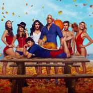 Baywatch Thanksgiving promo