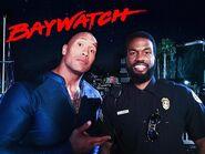 Dwayne Johnson and Yahya Abdul-Mateen II onset