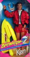 Baywatch Ken Doll