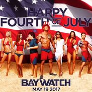 Baywatch 4th-of July promo