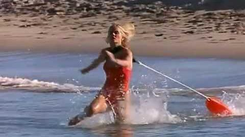 Baywatch - April making a rescue