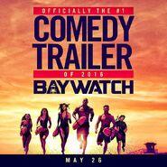 Baywatch comedy trailer promo 2016