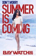 Baywatch Summer Is Coming character Victoria poster