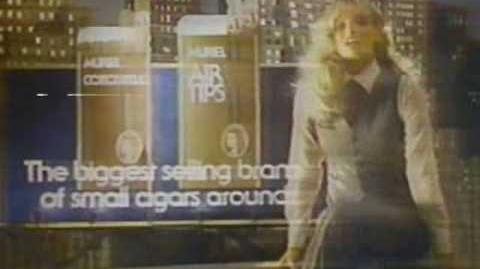 Muriel Cigars ad - Starring Susan Anton