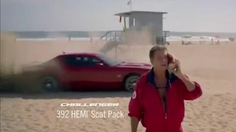 Dodge Summer Clearance Event Baywatch Featuring David Hasselhoff ~ Commercial Dodge 2015 HD-0
