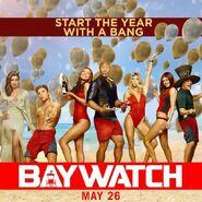 Baywatch New Year promo