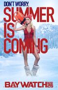 Baywatch Summer Is Coming character CJ poster