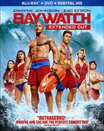 Baywatch Extended Cut Blu Ray