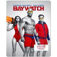 Baywatch Target Blu Ray Steelbook