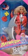 Baywatch Barbie Doll
