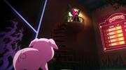 Kuroyukihime confronting Haru