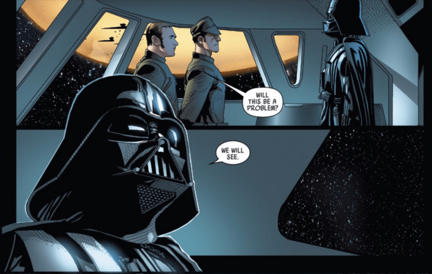 Rogue One and Darth Vader Comics Star Wars Issu