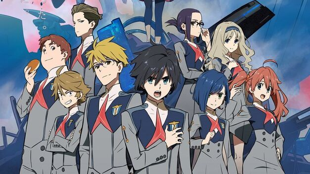 english dubbed anime winter 2018 DARLING in the FRANXX